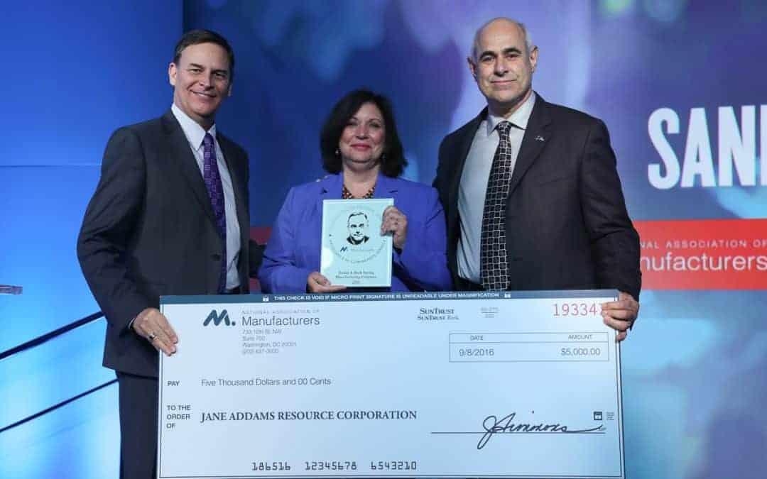 Manufacturers Honor Dudek & Bock with Sandy Trowbridge Award