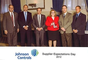 Johnson Controls Supplier Expectations Day 2012