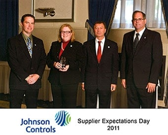 Johnson Controls Supplier Expectations Day 2011